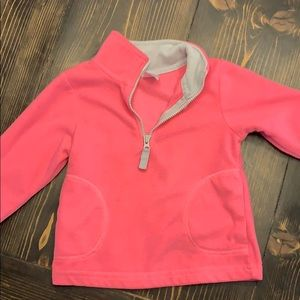 Gently used baby girl pullover